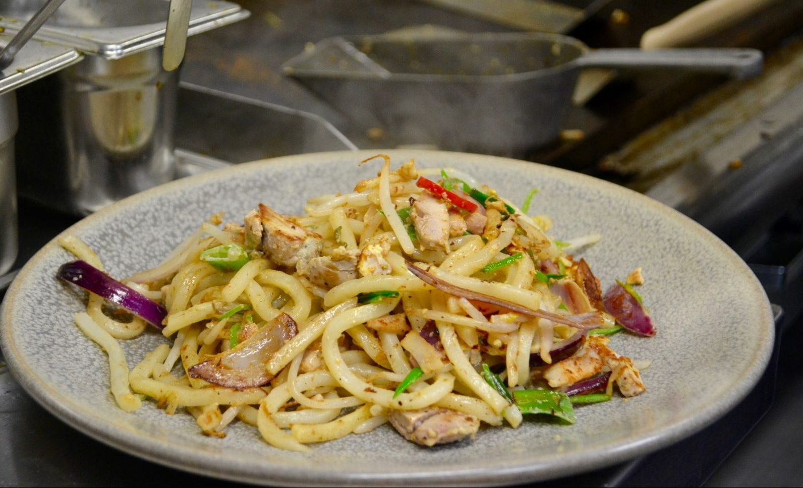 Wagamamas Cambridge*: New menu items & getting into the kitchen!