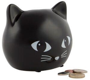 Sass & Belle Black Cat Moneybox