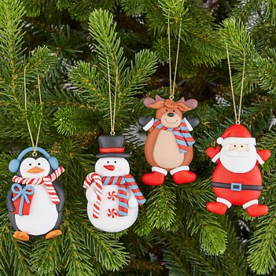 Christmas Character Decorations