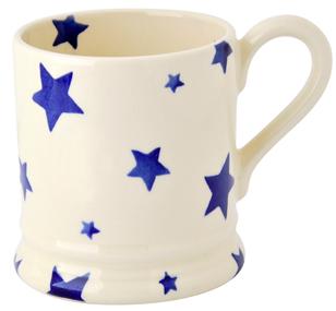Blue Stars Mug