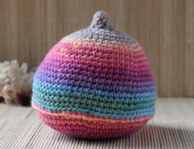 Knitted Rainbow Boob