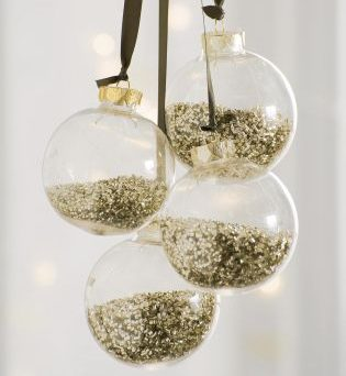 Gold Shaker Baubles