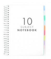 10 Subject Notebook