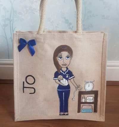Personalised Midwife Bag