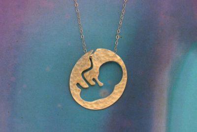 Fetus Necklace