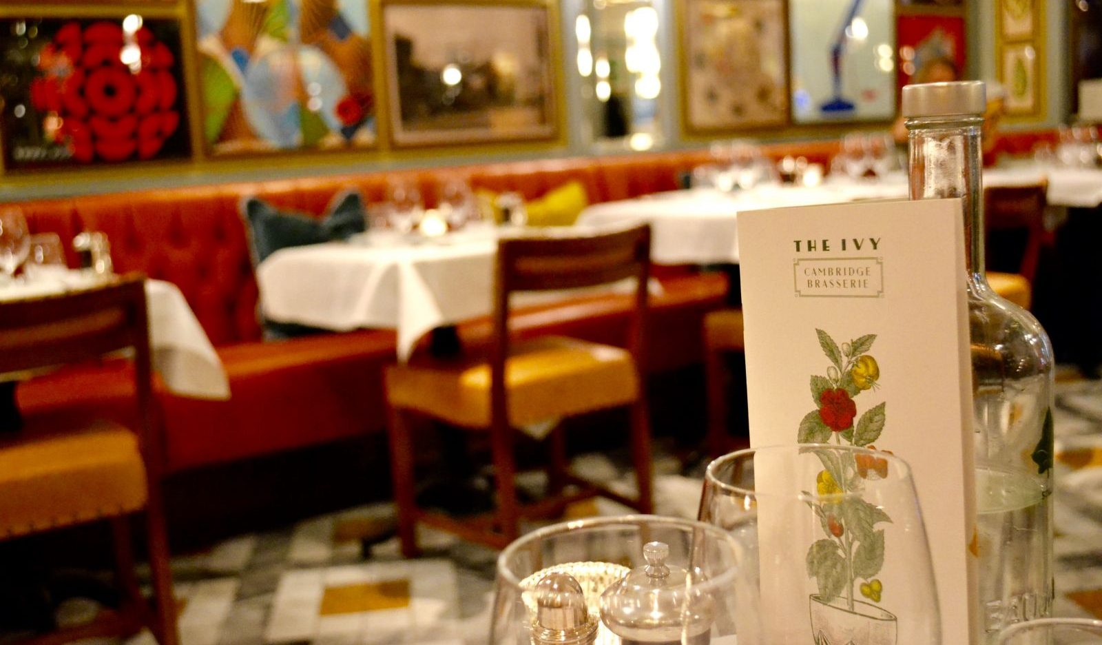 Three Delicious Courses at The Ivy Cambridge Brasserie*