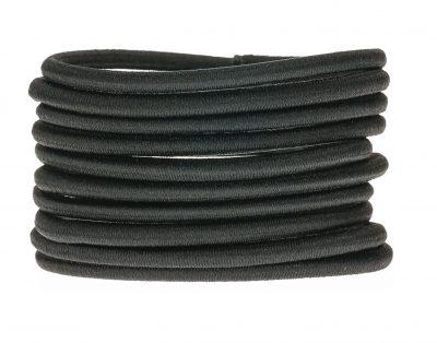 Black Hair Ties