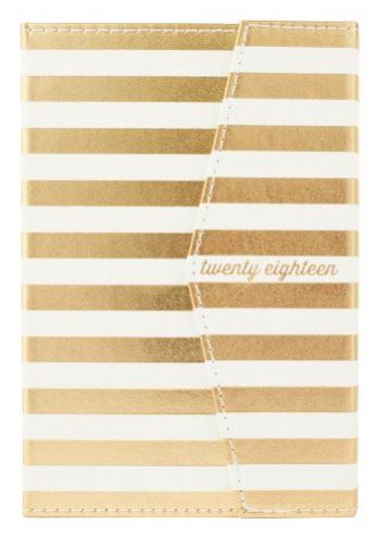 A5 Gold Stripe 2018 Diary