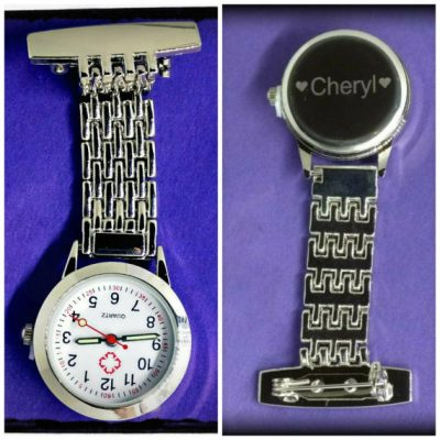 Engraved Personalised Fob Watch
