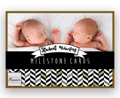 Student Midwife Milestone Cards