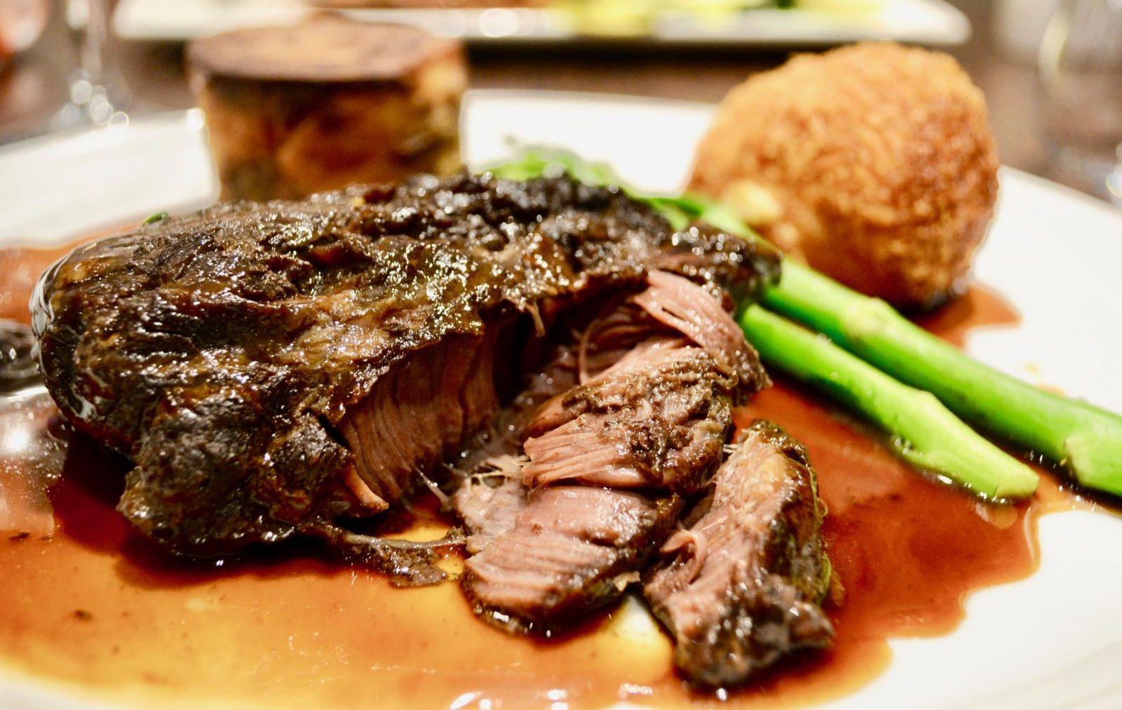 Melt-In-Your-Mouth Beef Cheek & more at The Lincoln Grille
