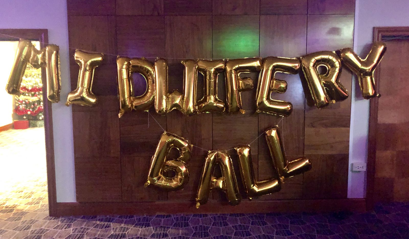 Midwife Mondays 115: Final shift before Christmas, and the Midwifery Ball!
